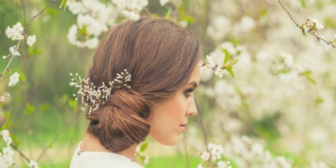 Haarkämme für die Brautfrisur